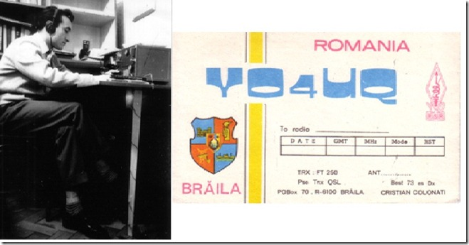 YO4UQ and FIRST QSL